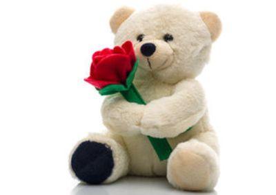 Плюшевый медведь в подарок