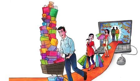 Покупка вещей в интернете - плюсы