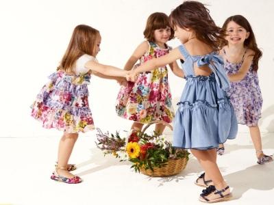Детские летние платья 2013
