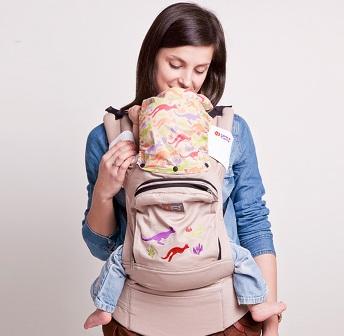 Эрго рюкзак для новорожденных. Плюсы.