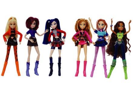 Новые куклы Winx для детей