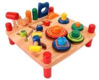 Развивающие деревянные игрушки для малышей