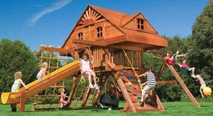 Семейный отдых - обустраиваем детские площадки