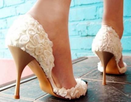 Свадебные туфли: история и выбор
