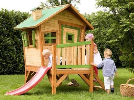 Сделать удобную детскую площадку на даче