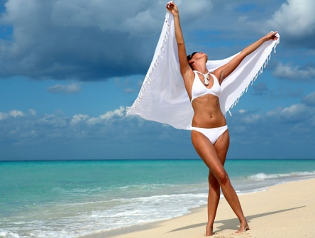В чем современная девушка ходит на пляж