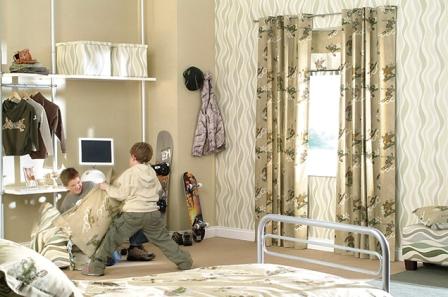Выбираем шторы для детской комнаты мальчика
