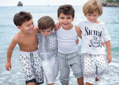 Модная детская одежда летом 2013