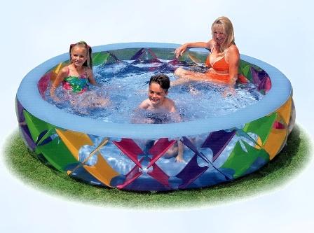 Как выбрать детский надувной басейн?