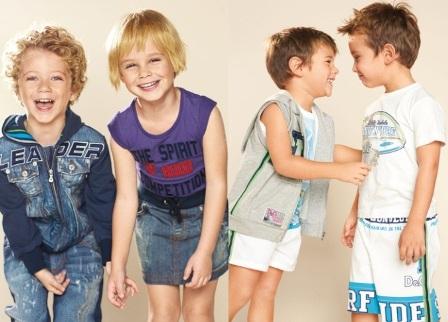 Модная детская одежда на летнее время