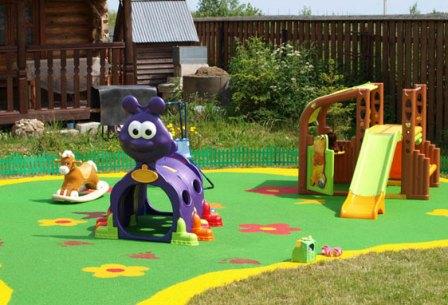 Оборудуем дачный участок для детских игр