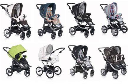 Самые популярные детские коляски 2013