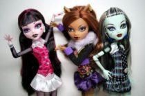 Самые интересные куклы Monster High