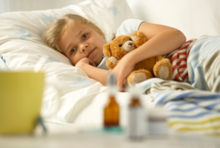 Уход за больным ребенком дома