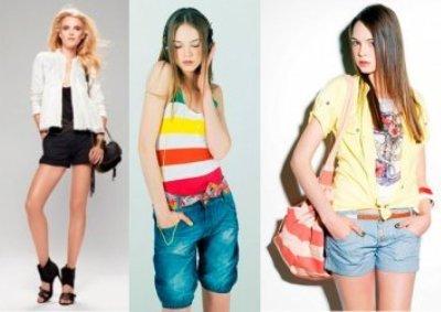 Модные шорты 2013 - Цвет