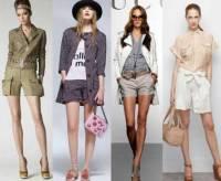 Модные женские шорты 2013 года