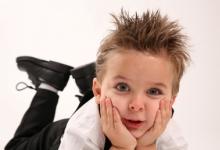 Детские прически для мальчиков