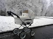 Зимняя коляска для новорожденного