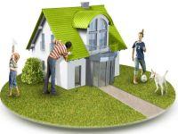 Почему молодой семье лучше жить в частном доме?