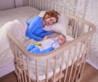 Приставные кроватки для новорожденных