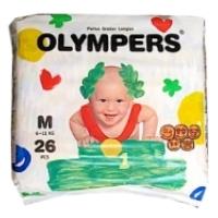Новинки для родителей — подгузники OLYMPERS