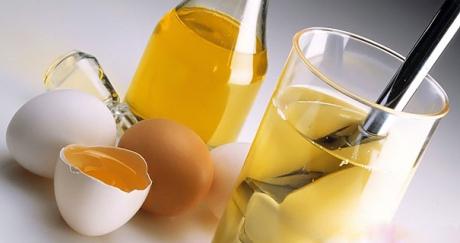 Приготовление маски из яиц