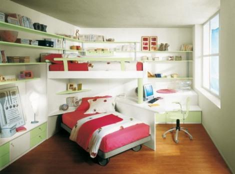 Необычное планирование детской комнаты