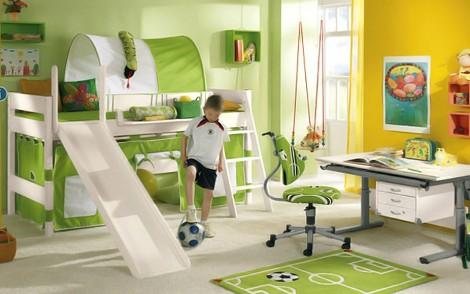 Планирование детской комнаты для спортсмена