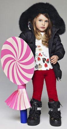 Модная одежда для девочки зимой