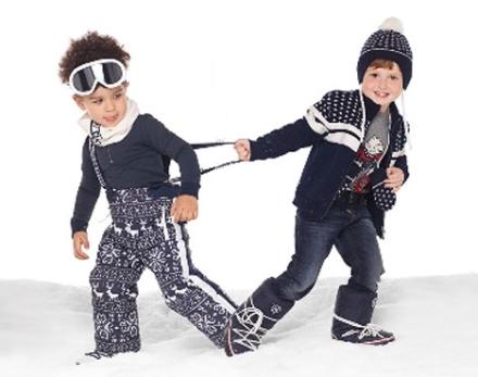 Красивая зимняя одежда для мальчиков