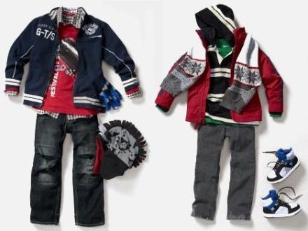 Стильная зимняя одежда для мальчиков