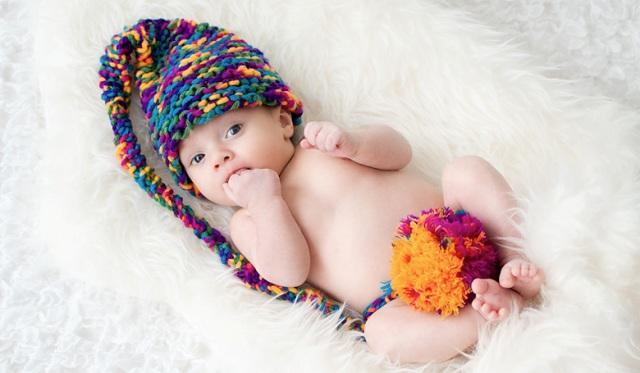 Как сделать красивое фото новорожденного