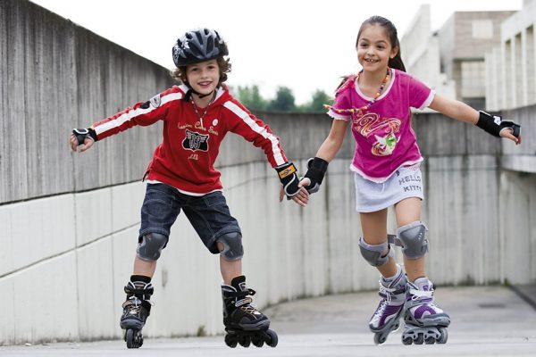 Какие бывают виды детских роликовых коньков