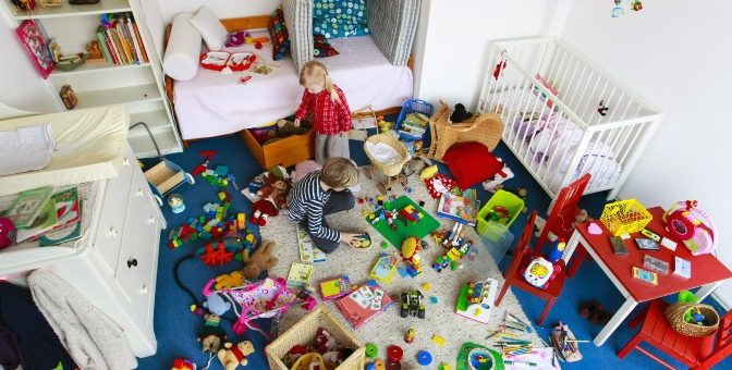 Новый опыт — выбросить все игрушки и стать счастливой!