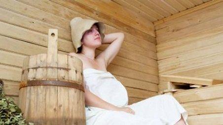 Беременность и русская баня