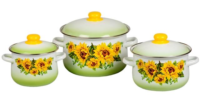 Разнообразие эмалированной посуды
