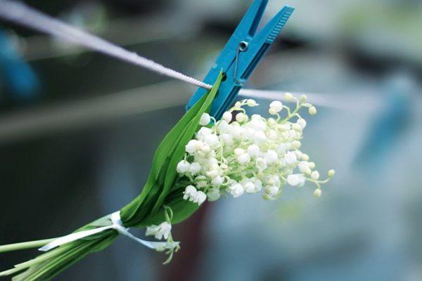 Ландыш - удивительный цветок.