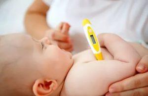Как правильно измерить температуру тела у ребенка?