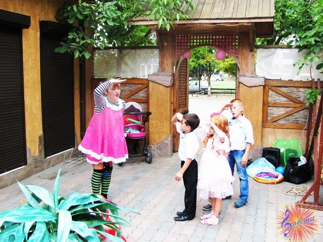 Пеппи Длинный чулок на детский праздник
