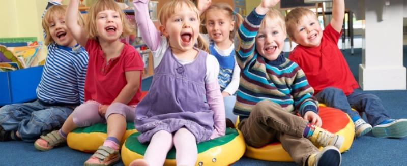 Основные плюсы частных детских садов.