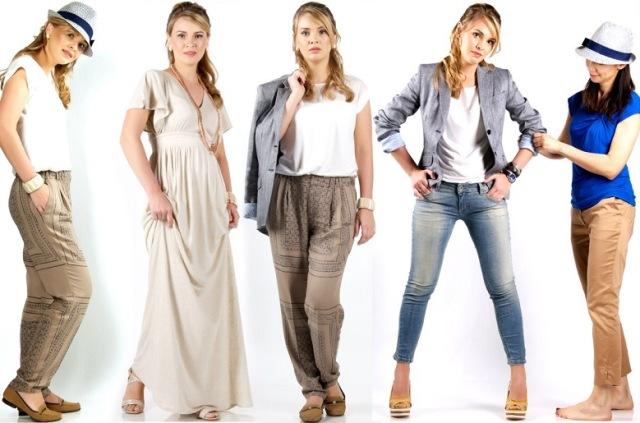 Разнообразие одежды для беременных