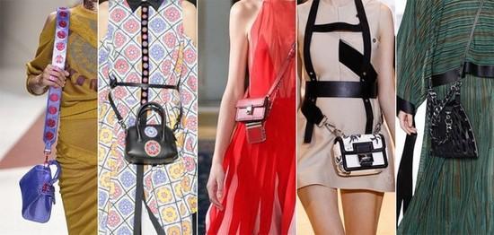 На фото варианты женских сумок через плечо.