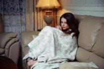 Как не замерзнуть ночью? Одеть теплую пижаму.